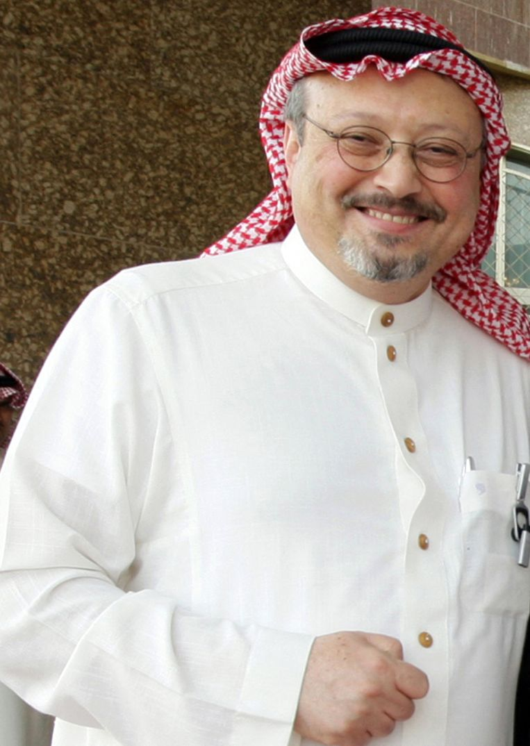 'Ik heb een gigantische hoeveelheid bewijs, en niet één land wil het tegen Saudi-Arabië opnemen.' Beeld Belgaimage