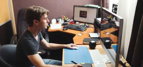 Digitale freelancers in de knel, kwart verwacht nog het hele jaar minder werk