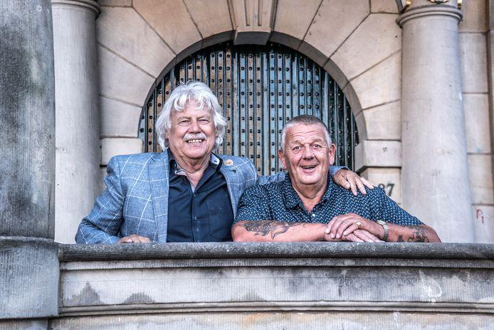 Martin Stoelinga (l) en Bram Stoop vormen samen een nieuwe politieke partij. Ze mikken op een collegeplek in 2022.