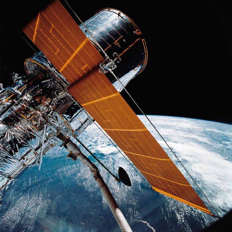 De Hubble telescoop. Beeld AP