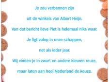 Albert Heijn schrijft gedicht aan Zwarte Piet