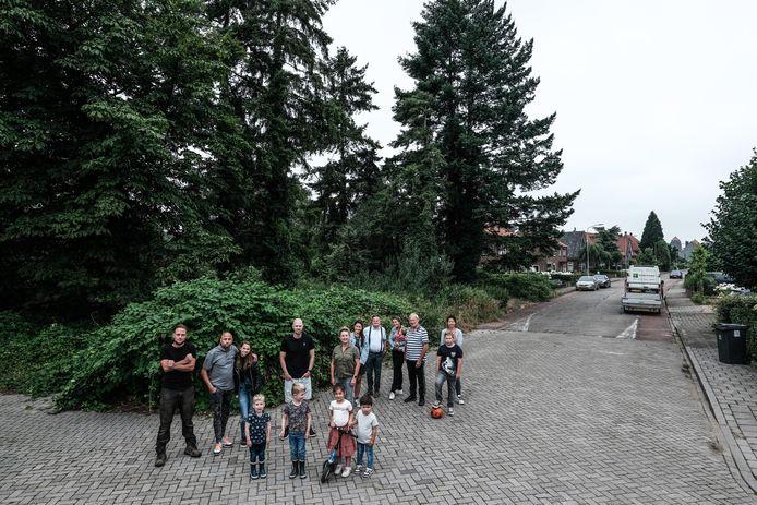 Bewoners van de Frans Halsweg in Doetinchem.