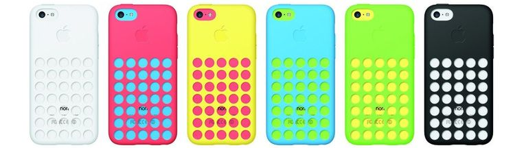 iPhone 5C-hoesjes. Beeld EPA