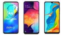 Wie wint de strijd der titanen onder de budgetsmartphones: Samsung, Huawei of Motorola?