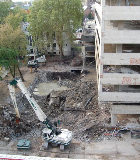 Straatbeeld: Betonkarkas