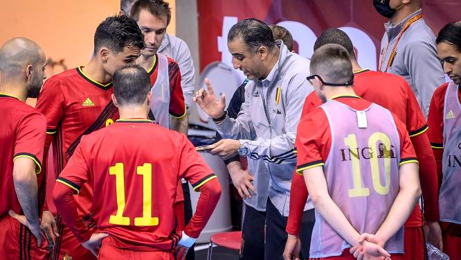 "Karim Bachar leidt Rode Duivels Futsal naar stuntzege tegen Italië: ""Verdienste van de hele groep"""