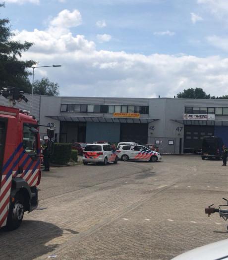 Chemicaliën voor productie drugs aangetroffen in bedrijfspand Spijkenisse