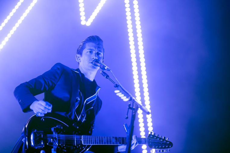 Arctic Monkeys in Vorst Nationaal. Beeld Alex Vanhee