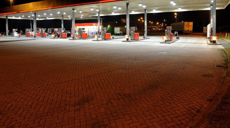 Een tankstation. © ANP Beeld