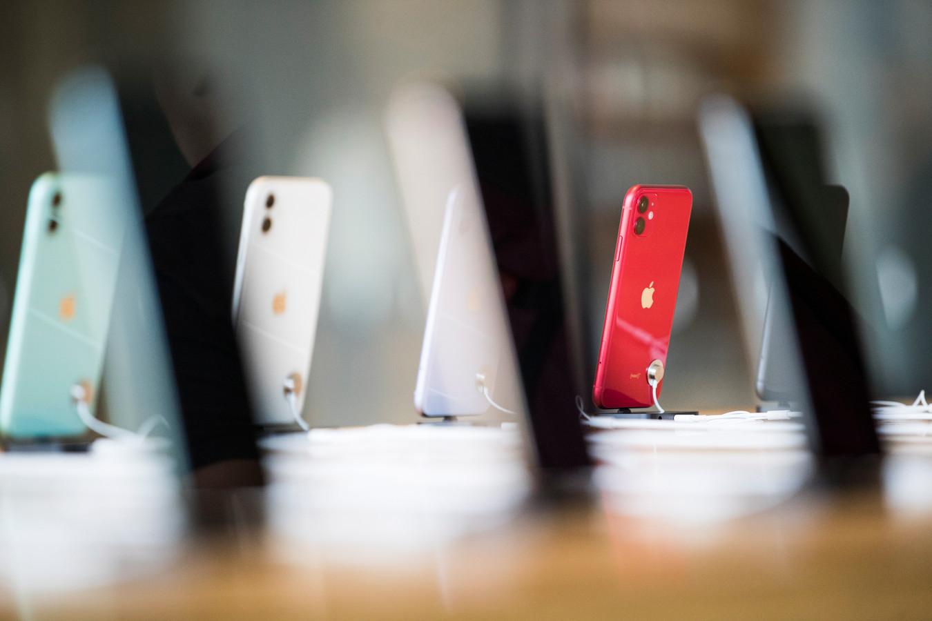 iPhone 11. Foto ter illustratie.