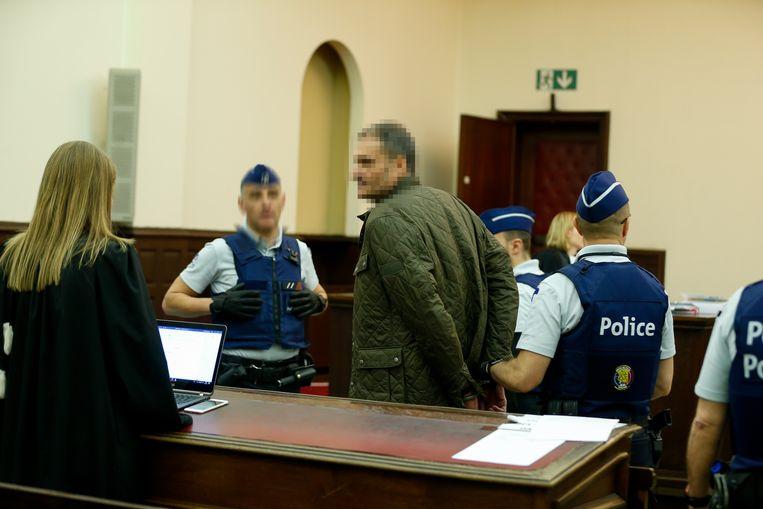 Beschuldigde Marc Bertoldi, bij een eerdere zitting.