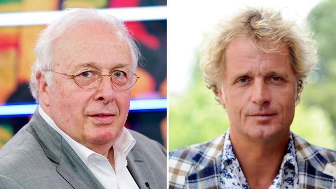 Mart Smeets (links) en Jeroen Pauw.