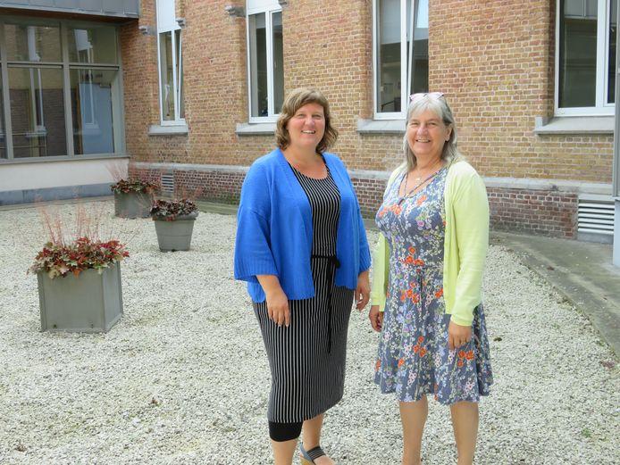 Nathalie Andries en Lieve Bohy werken mee aan RONJA tijdens Theater aan Zee.