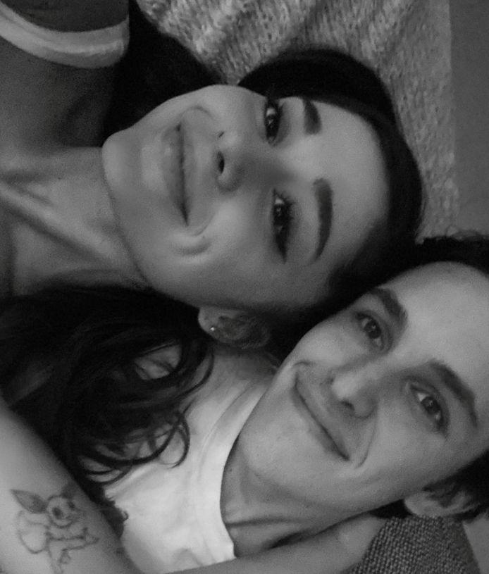 Ariana Grande en Dalton Gomez