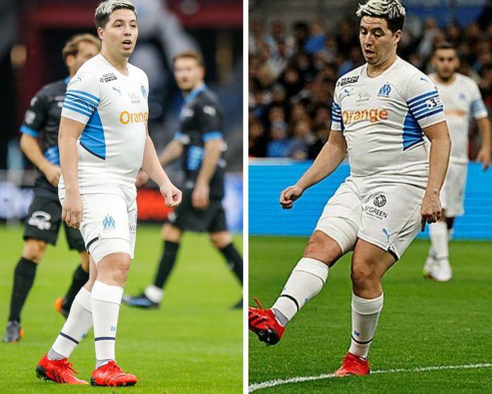 Fraîchement retraité, l'ancien joueur d'Arsenal et de Manchester City s'est fait remarquer lors d'un match de charité par son impressionnante prise de poids.