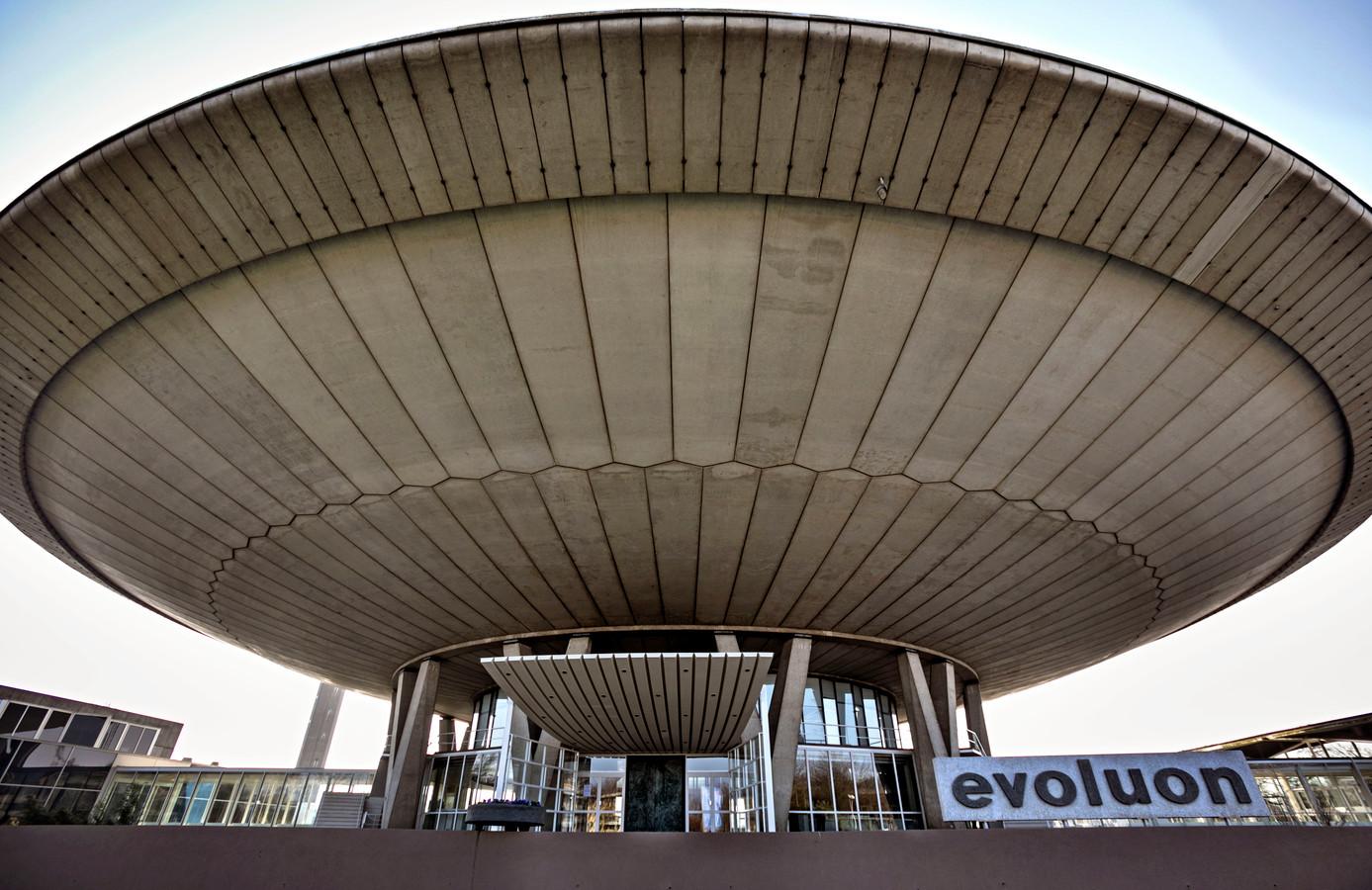 Het Evoluon in Eindhoven.