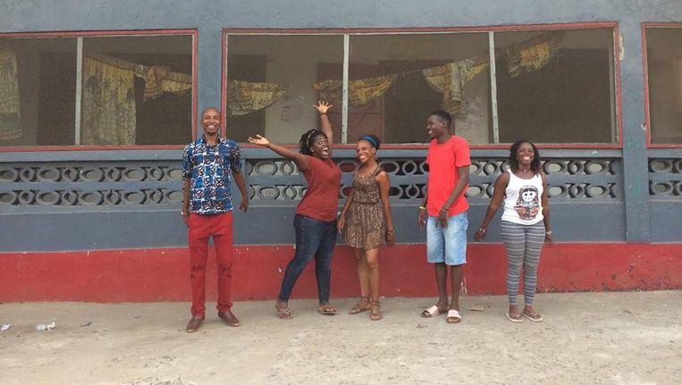 De Liberiaanse studenten die zich inzetten voor een bioscoop in hun stad Beeld Ema Cvrkota