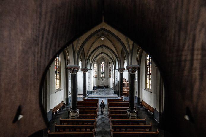 Archieffoto: Laatste keer kijken in kerk Johannes de Doper