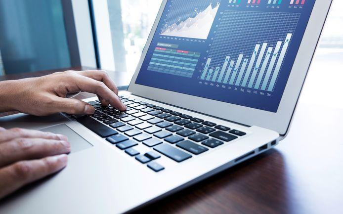 computer graphs laptop grafieken