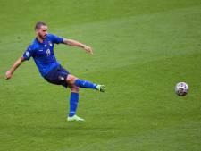 """L'Italie """"pas effrayée"""" par Wembley, assure Bonucci"""