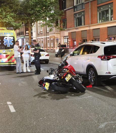 Motorrijder gewond geraakt na aanrijding