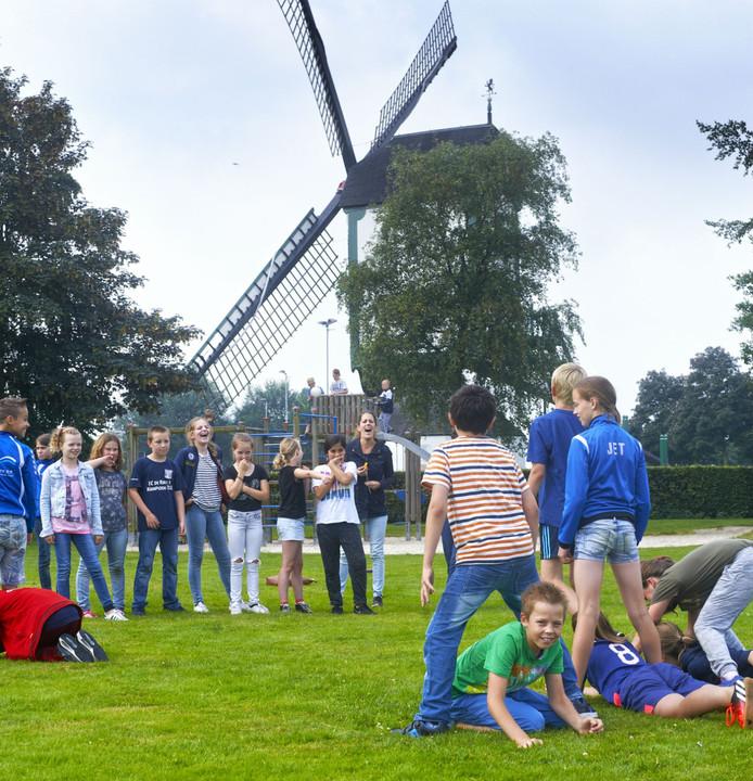 Basisschool St. Jozef is een van de vele gebruikers van het sportpark.
