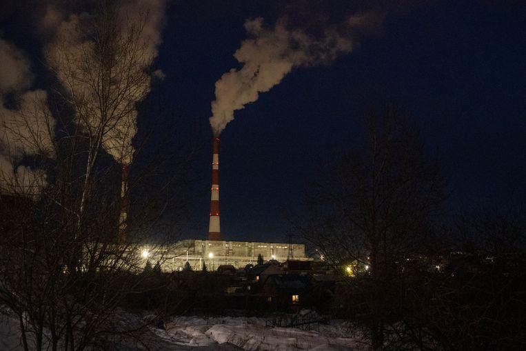 In een oud fabriekspand draaien de processors op volle toeren om cryptomunten te delven.  Beeld Yuri Kozyrev/Noor