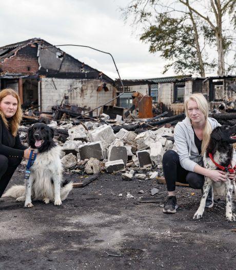 Thirza en Kalijn schieten te hulp na fatale brand bij hondenfokker in Hasselt: 'We zagen het verdriet'