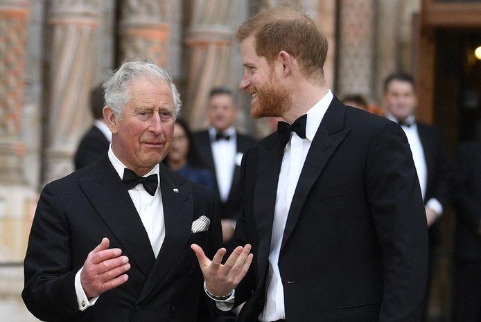 Charles en Harry