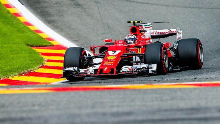 Kimi Raikkonen van Scuderia Ferrari. Beeld epa