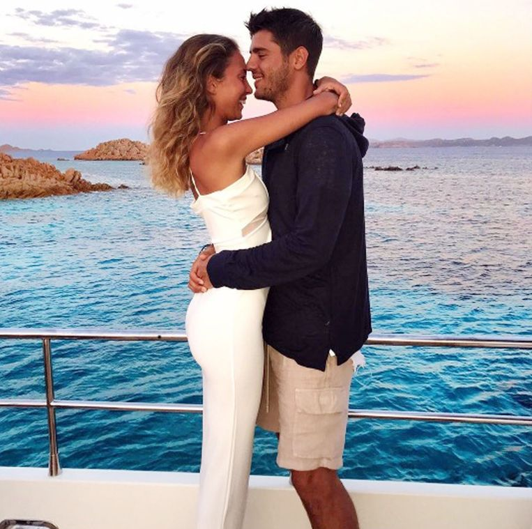 Morata huwde de Italiaanse modeblogster Alice Campello deze zomer op Sardinië