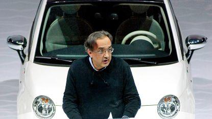 Donkere dag voor Fiat Chrysler: CEO overleden en winstalarm