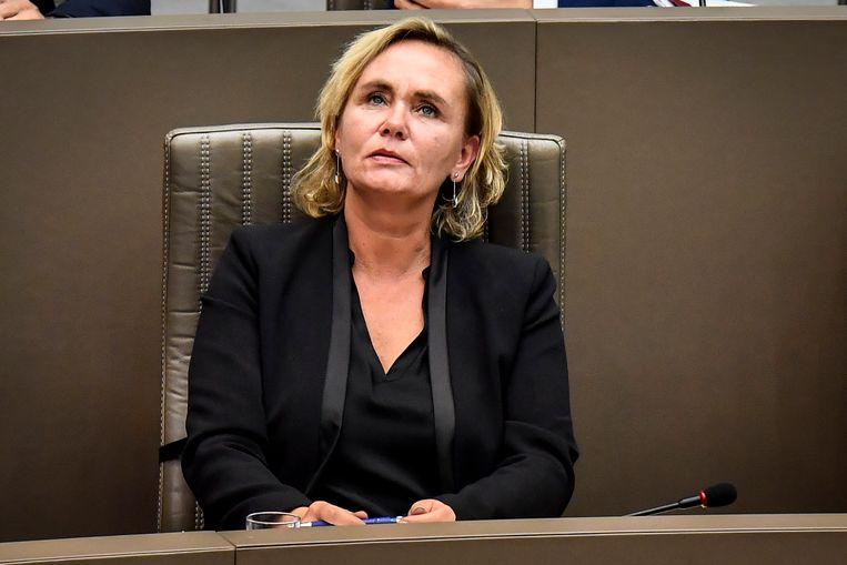 Liesbeth Homans, Vlaams minister van Inburgering. Beeld BELGA