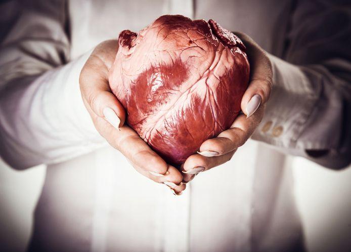 In beide gevallen kregen de patiënten een nieuw hart en geen van hen liep na de transplantatie een besmetting op met Covid-19. Illustratiebeeld.
