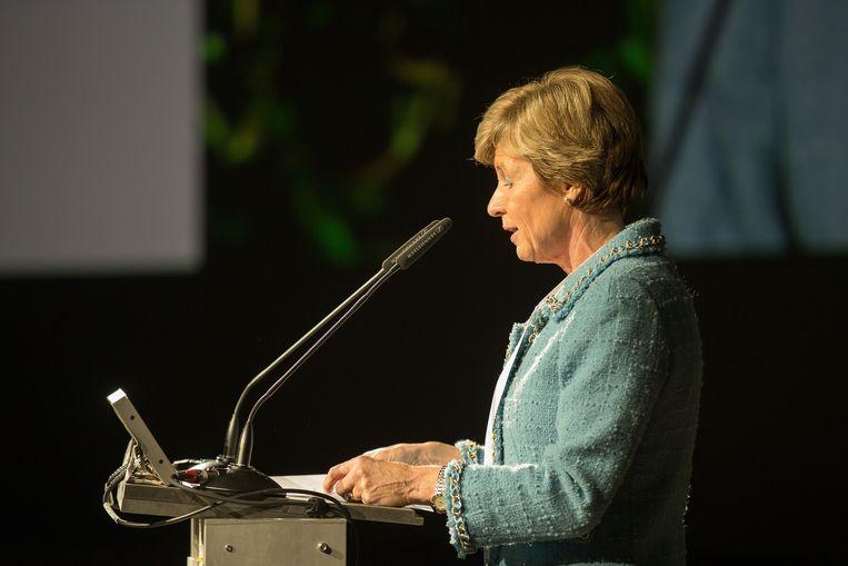Ook oud-rector Anne de Paepe hangt een klacht van laster en eerroof boven het hoofd. Ze maakte in 2017 in deze krant melding van 'seksuele intimidatie' terwijl ze al wist dat J.P. vrijgesproken was van die aantijgingen. Beeld Photo News