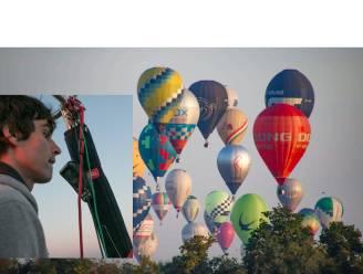 """""""Liever met mijn hoofd in de wolken dan met mijn voeten op de grond"""": ballonvaarder David Spildooren vaart op titelkoers"""