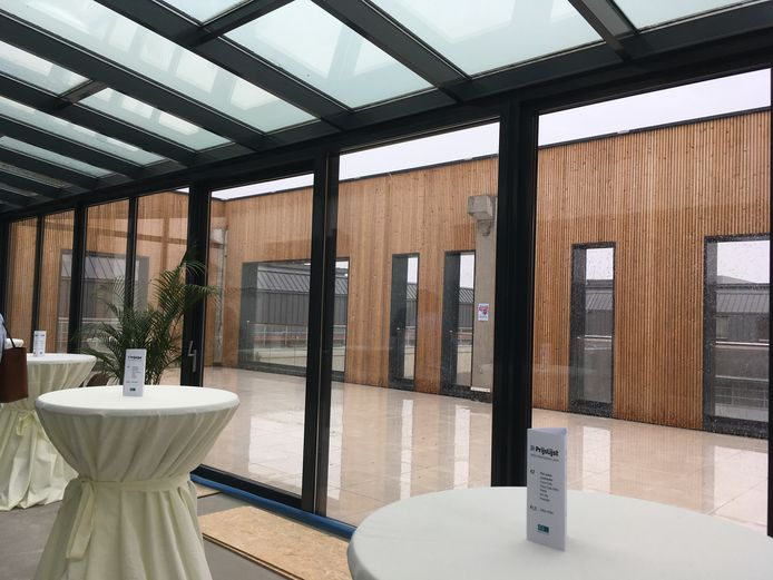 De palliatieve afdeling krijgt een veranda en een buitenterras.