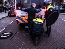 Nog 27 personen vast na rellen Museumplein, 7 minderjarig