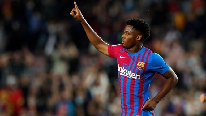 Ansu Fati prolonge au Barça jusqu'en 2027, sa clause libératoire fixée à un milliard