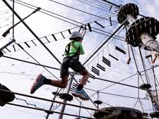 Skywalker is wereldtop in bouw van avontuurlijke klauterroutes met ziplines