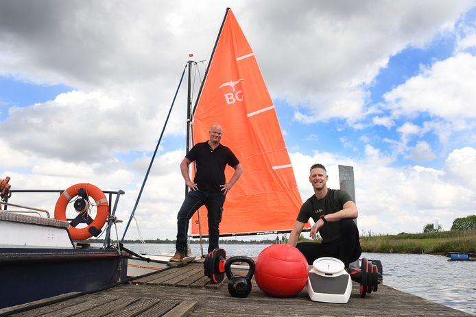 Jaap Ceulemans (links) en Marc Scheffler van 1.2.b-fitt.