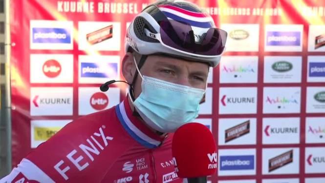 """Van der Poel wint niet, maar heeft zich wel geamuseerd: """"Was een leuke dag, ik kan met een goed gevoel naar huis"""""""