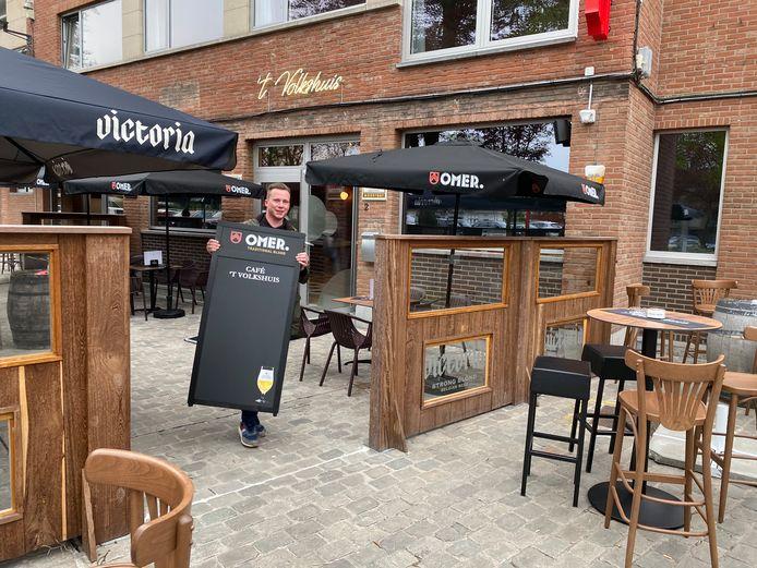 Café 't Volkshuis maakt zich op voor heropening