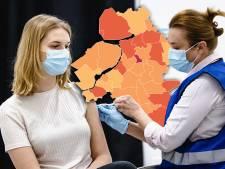 KAART | Opnieuw minder besmettingen in de regio: Hattem heeft de slechtste cijfers