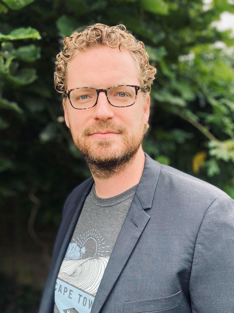 Professor kosmochemie Steven Goderis (VUB). Beeld RV