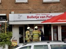 Brand bij snackbar Bolletje van Polletje in Amersfoort