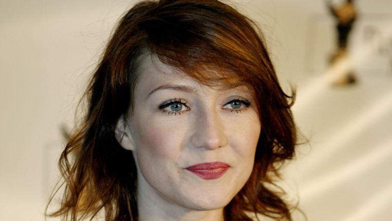 Carice van Houten werd voor de 5e keer uitgeroepen tot Beste Nederlandse Actrice. Beeld © ANP