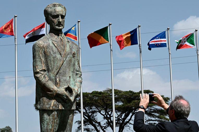 De luchtvaartmaatschappij werd opgericht op initiatief van Haile Selassie, de voormalige keizer van Ethiopië. Beeld AFP