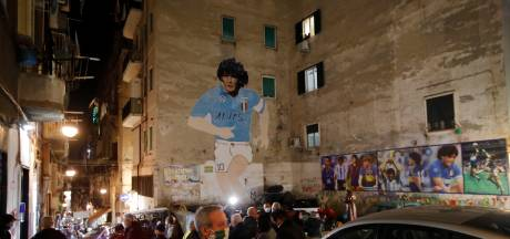 Minuut stilte voor Maradona in Europees clubvoetbal