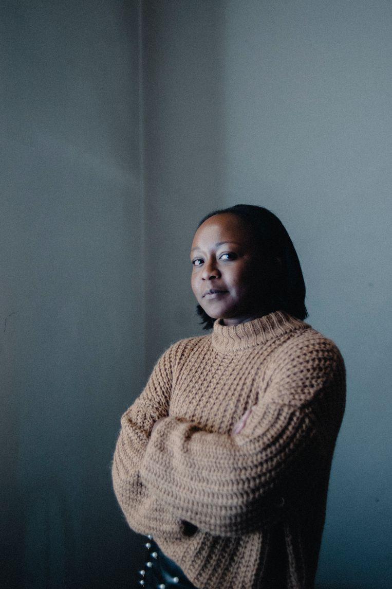 Crépine Uwashema:  'Soms word ik in de rechtszaal zelfs niet aangesproken of vragen ze mij wie ik ben.' Beeld Daniil Lavrovski